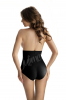 High-Waist Shape-Panty schwarz