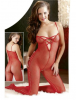 Catsuit Ouv Rot