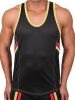 Pistol Pete Fighter: Tanktop, schwarz