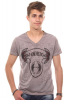 JENERIC T-Shirt V-Ausschnitt regular fit