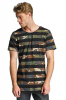 2Y Camo Stripes T-Shirt Black