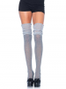 Leg Avenue Overknee Struempfe in Strick-Optik & Ajour