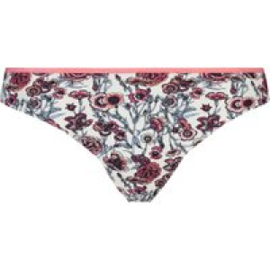 Hunkemöller Invisible String Rose Print Weiß